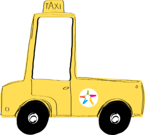servizio taxi per bambini