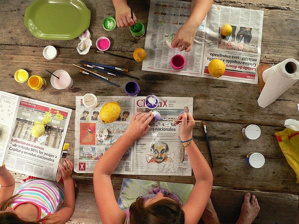 arte e creatività bambini